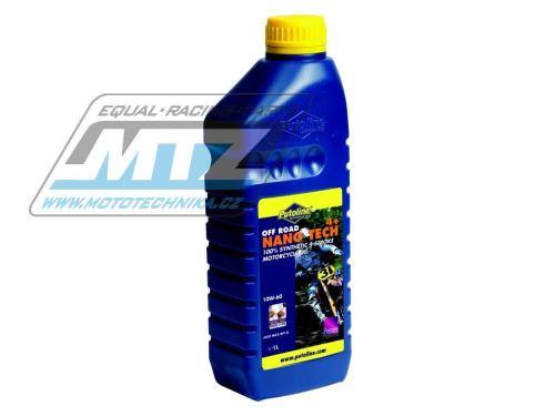Olej motorový motocyklový Putoline Nano-tech Off road 4+ 10W/60 (balení 1L)