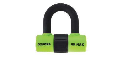 Zámek U profil HD Max, OXFORD (zelený/černý, průměr čepu 14 mm)