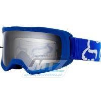 Brýle FOX MAIN II Race Goggle MX20 - modré