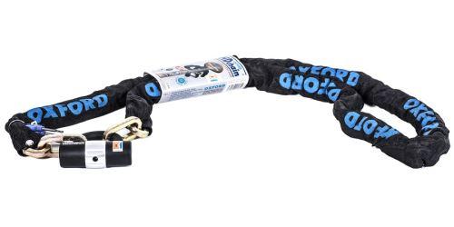 Řetězový zámek na motocykl Heavy Duty, OXFORD (délka 2 m)