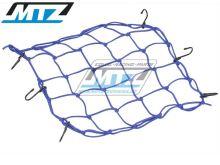 Síťka s háky (40x40cm) - modrá