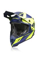 ACERBIS motokros přilba přilba X-TRACK modrá/žlutá L