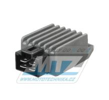 Regulátor dobíjení (4pinový konektor) RGU-299 - Yamaha XT125R+XT125X / 05-07 + DT50R+DT50X+TZR50+YH50 Why+YN50 Neos+YQ50 Aerox+CW50BWS+CS50 Jog+BW50 + Kymco People+Agility+Yup+Dink+Vitality+Fever+Mxer+Sniper+Movie + Malaguti 125+150 Ciak + SYM
