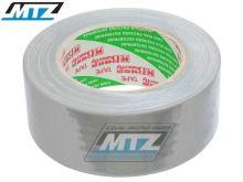 Páska americká (textilní Duct Tape) - 48mmX50m - stříbrná