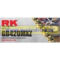 RK Řetěz 420 MXZ zlatý-132 čl.