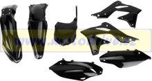 UFO PLAST Sada plastů Kawasaki KXF 250 2013 Černá