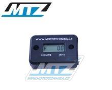 Počítadlo motohodin MTZ (motohodiny) - černé
