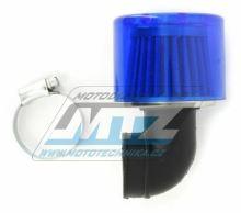 Filtr Pitbike s přírubou a s krytem - průměr 35mm (zahnutý 90°)