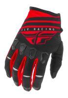 Rukavice KINETIC K220 2020, FLY RACING - USA (červená/černá/bílá)
