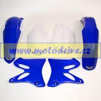 UFO PLAST Sada plastů Yamaha YZ 250 2002-2005 Černá