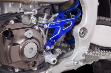 ZETA Kryt/Chránič řetězového kolečka Yamaha YZ 250 FX modrá 2015--
