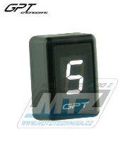 Ukazatel zařazené rychlosti digitální GPT GI1001 (bílý)
