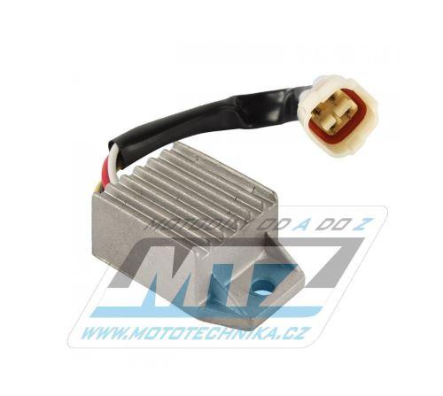 Regulátor dobíjení (4pinový konektor) RGU-603 - Beta RR250+RR400+RR430+RR450+RR498+RR525 + XTrainer + KTM 125EXC+150EXC+200EXC+250EXC+300EXC +400EXC+450EXC+525EXC+530EXC+250EXCF + 660SMC + Husqvarna TE125+TE250+TE300+TX125 + Husaberg FE450+550+650