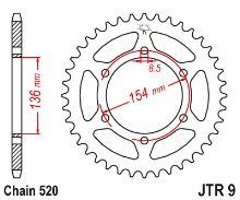 Řetězová sada BMW 650 XChallenge/K15/ _2007-2008