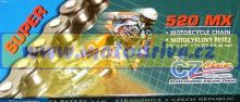 ČZ Řetěz 520 MX zlatá 118