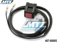 Vypínač/Chcípák KTM + Yamaha YZ80+YZ85+YZ125+YZ250+YZ465+YZ490 + YZF250+YZF400+YZF426+YZF450 + WRF250+WRF400+WRF426+WRF450 + XT600+TT600+TTR125+TT350+XT350 + IT200+IT465+IT490