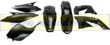 UFO PLAST Sada plastů Kawasaki KXF 450 2010-2011 Černá