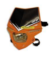 UFO PLAST Přední maska se světlem Stealth oranžová