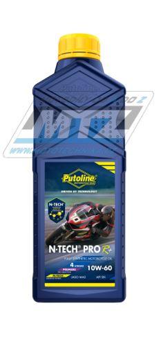 Olej motorový motocyklový Putoline N-TECH PRO4+ Road 10W/60 (balení 1L)