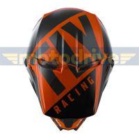 přilba ELITE VIGLANT, FLY RACING - USA (oranžová/černá)