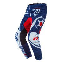 Kalhoty O´Neal Element WARHAWK modrá/červená