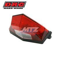 Zadní světlo Edge2 12V - červené (osvětlení SPZ bílé barvy)