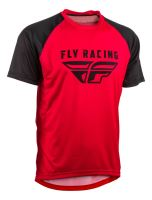 Dres SUPER D, FLY RACING - USA (červená/černá)