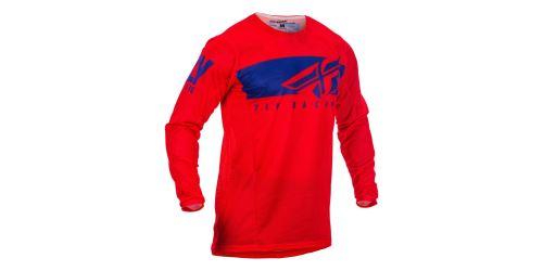 dres KINETIC MESH 2019.5, FLY RACING - USA (červená/modrá)