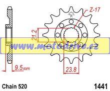 JT Řetězové kolečko Suzuki RMZ 450_2005-2012/13z