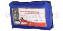 Autolékárnička CZ - textilní (výbava dle vyhlášky č. 206/2018 Sb.)