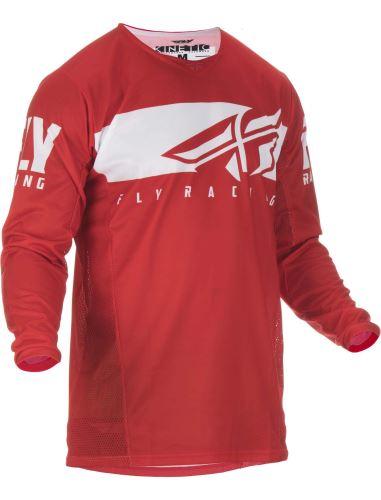 Dres Kinetic SHIELD 2019, FLY RACING - USA (červená/bílá)