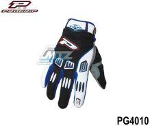 Rukavice jezdecké Progrip 4010 - modré (velikost S)