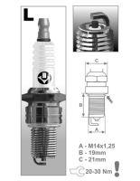 Zapalovací svíčka L14C řada Super, BRISK - Česká Republika