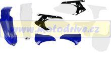 UFO PLAST Sada plastů Yamaha YZF 450 2013 OEM-modrá/bílá