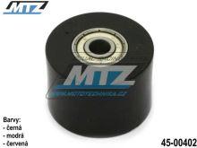 Rolna řetězu včetně ložisek (průměr 42mm / šířka 28,5mm) - černá
