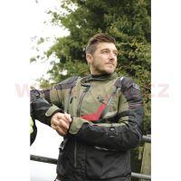 Bunda MONTREAL 3.0, OXFORD (zelená army/černá/červená)