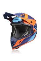 ACERBIS motokros přilba  X-TRACK modrá/oranž S
