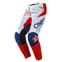 Dětské kalhoty O´Neal Element FACTOR bílá/červená