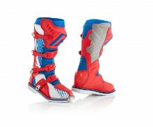 ACERBIS motokros boty X-PRO V. modrá/červená 39