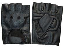 Rukavice Faaker bezprstové, ROLEFF - Německo (černé, vel. XL)