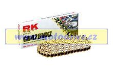 RK Řetěz 428 MXZ zlatý