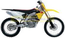 UFO PLAST Sada plastů Suzuki RMZ 450 2013 Bílá