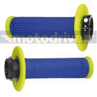 PRO GRIP GRIPY 708 OFFROAD žluto/modré zamykací