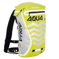 Oxford Vodotěsný batoh Aqua V20 Extreme Visibility, Anglie (žlutá fluo/reflexní prvky, objem 20l)