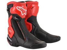 Boty SMX Plus V2, ALPINESTARS (černá/červená, vel. 46)