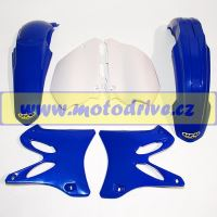 UFO PLAST Sada plastů Yamaha YZ 250 2006-2012 Černá
