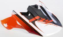 Kšilt FLY F2 Fastback - FLY RACING - USA (oranžová/černá/bílá)