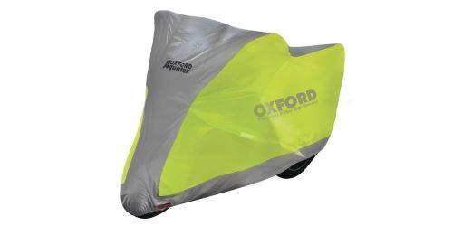 Plachta na motorku Aquatex Fluo, OXFORD (žlutá fluo/stříbrná)