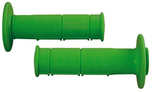 Gripy Racing (měkké), RTECH (zelené, pár, délka 116 mm)