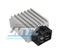 Regulátor dobíjení (4pinový konektor) - Honda+Kymco+Baotian+SYM+Kreidler+JMStar+Motorro+GY6 + čínské skútry+čtyřkolky